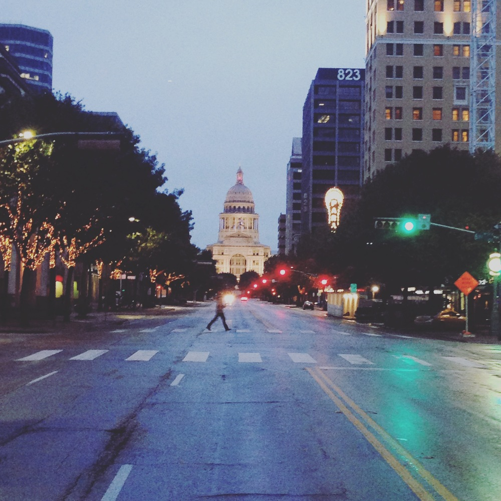 Winter. Austin. 2015
