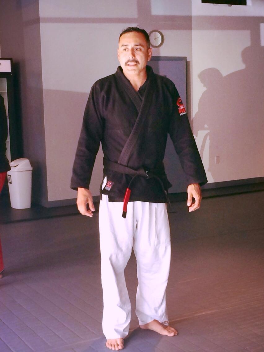 Awarded Black Belt, Nov. 2014. A black belt never stops learning.