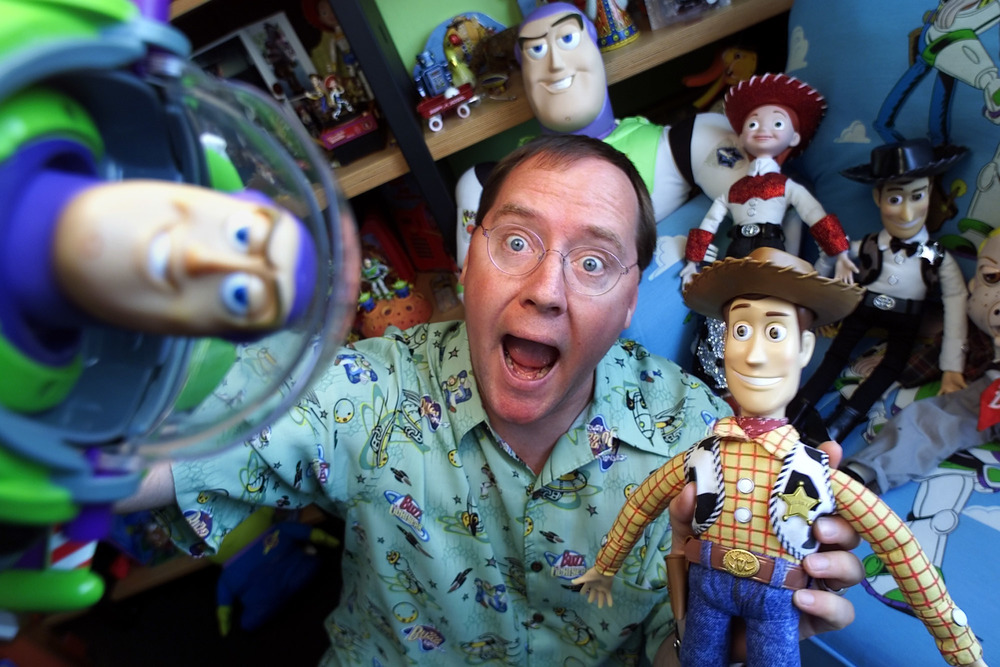 John Lasseter - Pixar co-founder