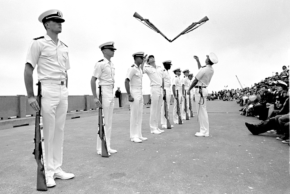 Naval Drill Team, Fleet Week - San Francisco, CA