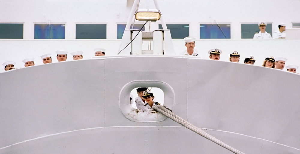 Deployment last looks, USS Mercy- Alameda, CA