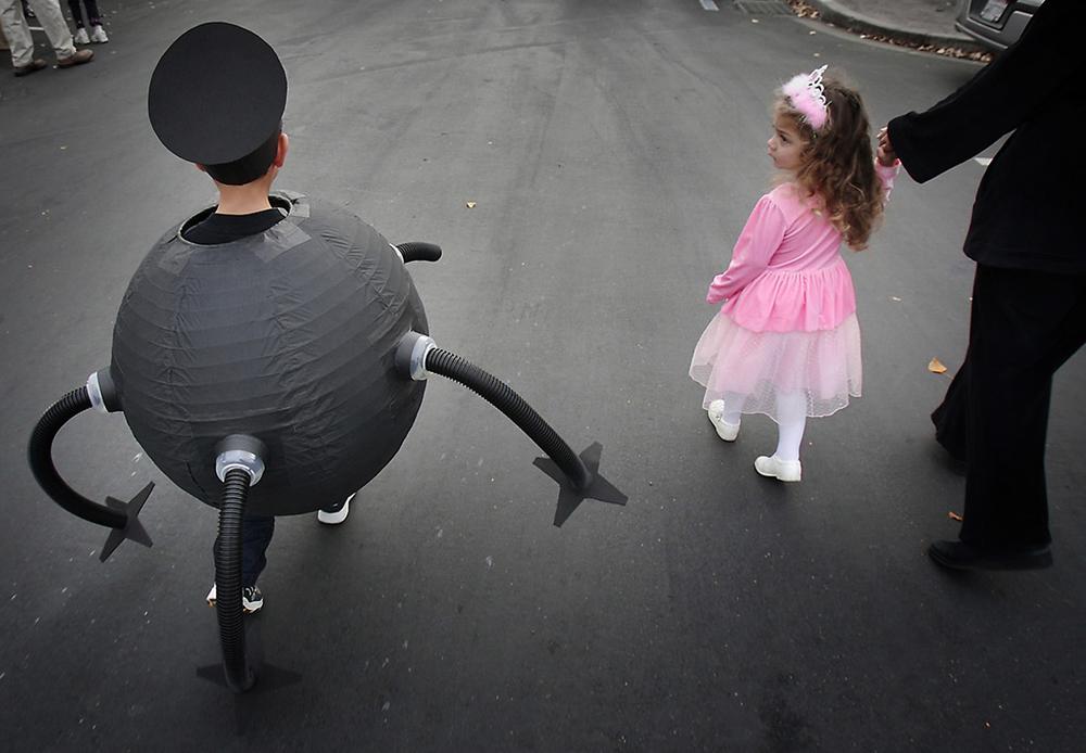 Halloween parade - Oakland, CA