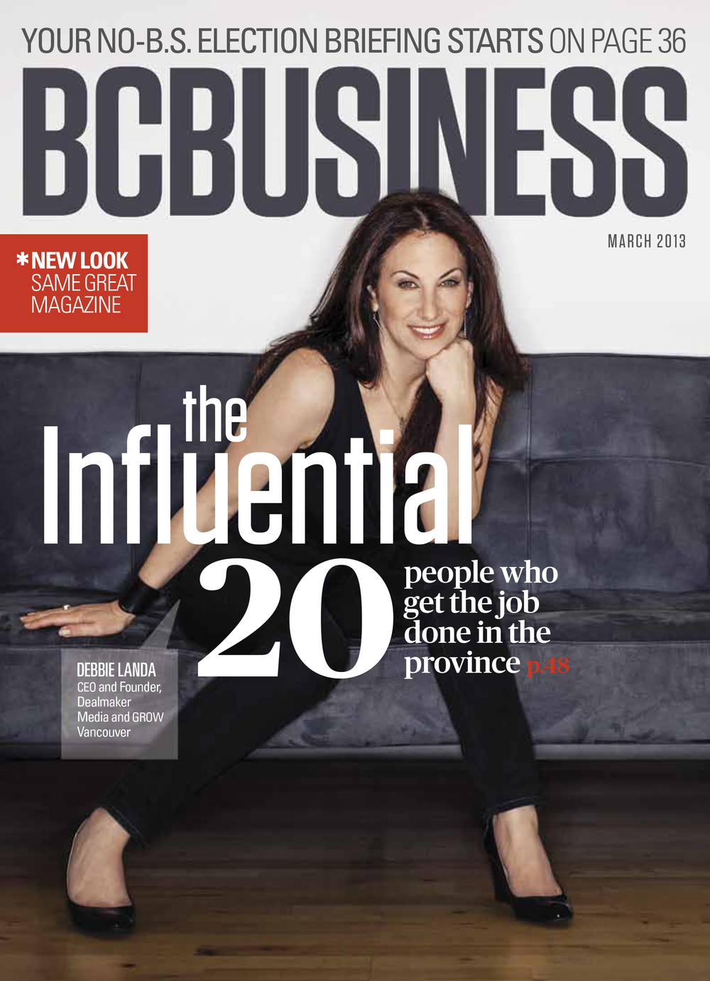 BC Business Magazine     -cover