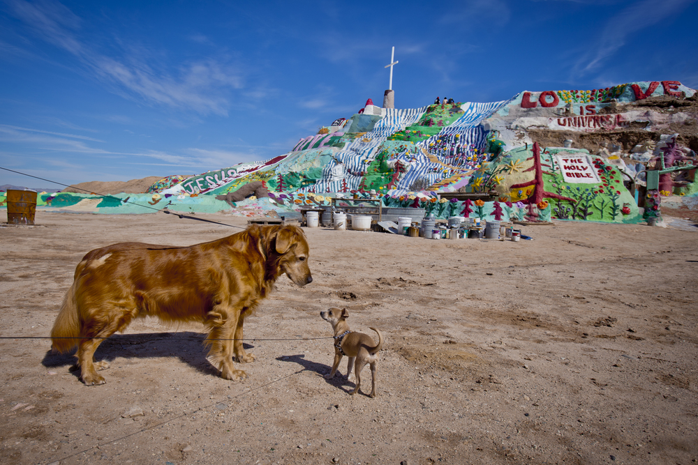 Salvation Mountain - Neiland, CA