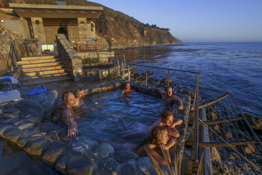 Bath House, Esalen Institute - Big Sur, CA