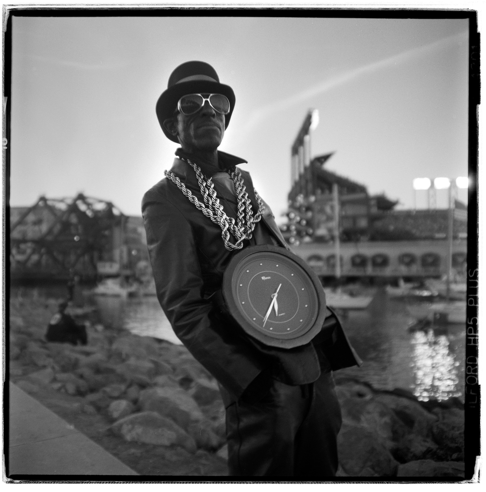 SF's Flavor Flav, RT Chilton - McCovey Cove, San Francisco, CA