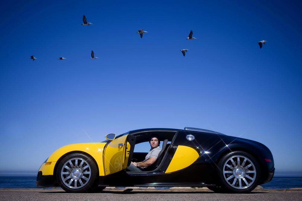 Stewart Schwartapfel / Bugatti Veyron - writer