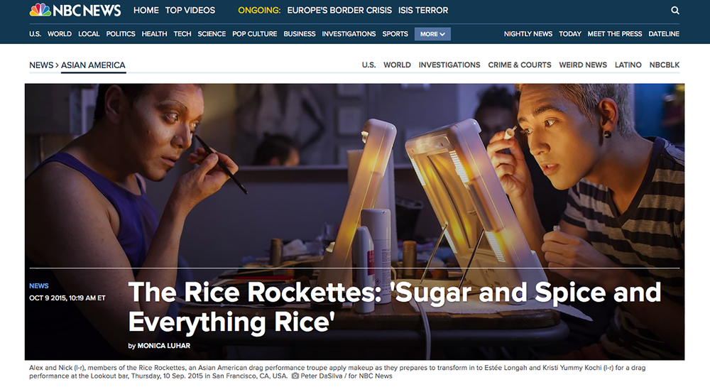 NBC News - Rice Rockettes