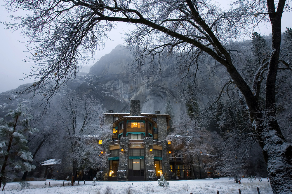The Ahwahnee Hotel - Yosemite Valley, CA