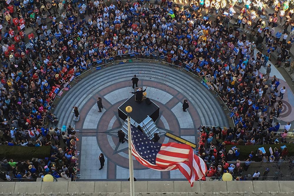 Sen. Bernie Sanders Rally - Oakland, CA