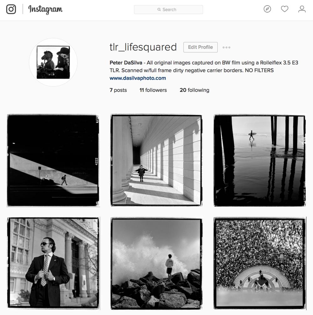 new instagram account   tlr lifesquared peter dasilva