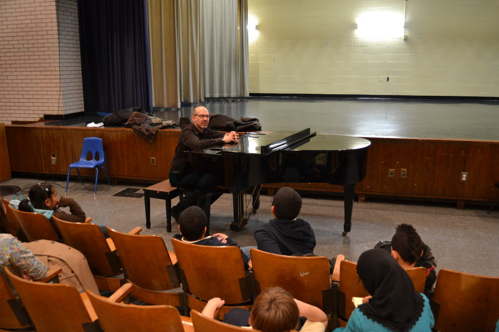 Musical Mentors Master Class with Grammy-nominated Jazz Pianist Ted Rosenthal