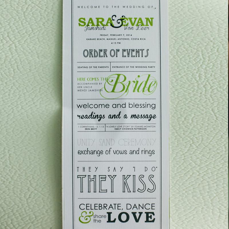 Sara & Evan's Wedding
