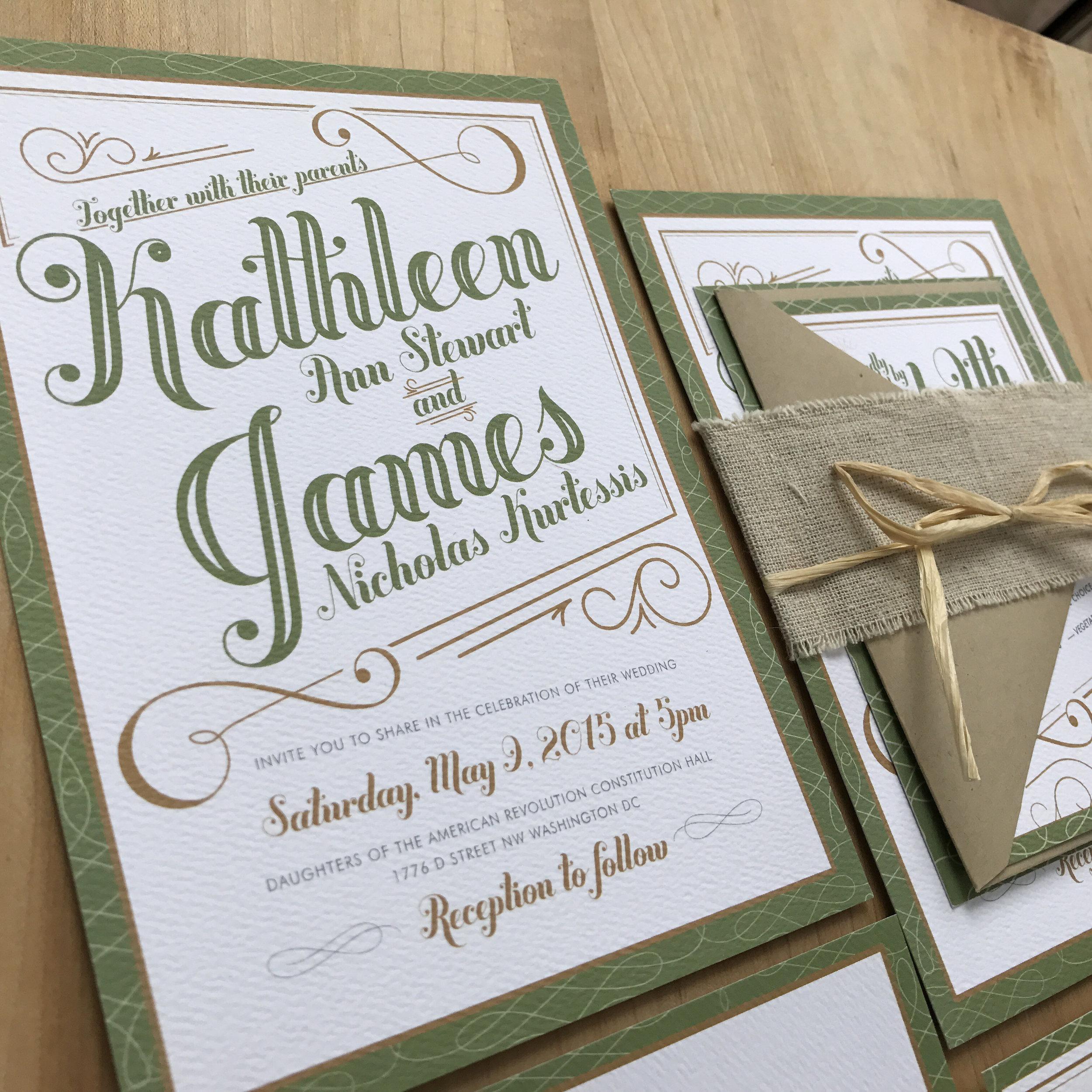 Invitations — Wink Letters & Design