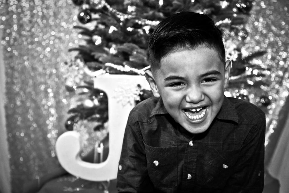Julian laughing away...