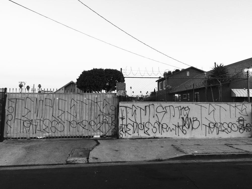 Varrio Temple St   South Central LA,CA