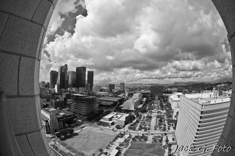 Cloudy LA...