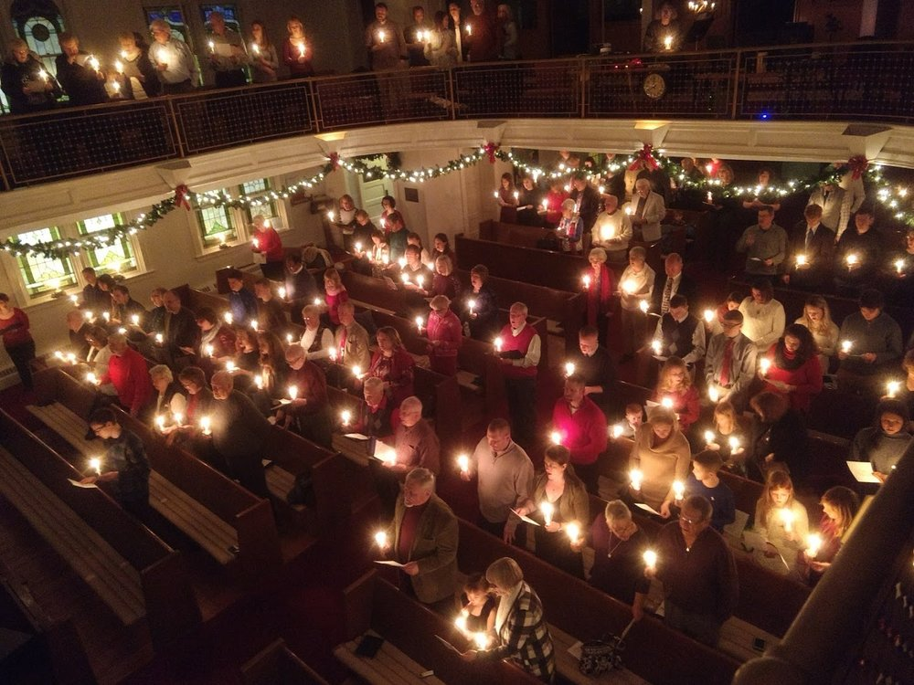 Christmas Candlelight Service 2017