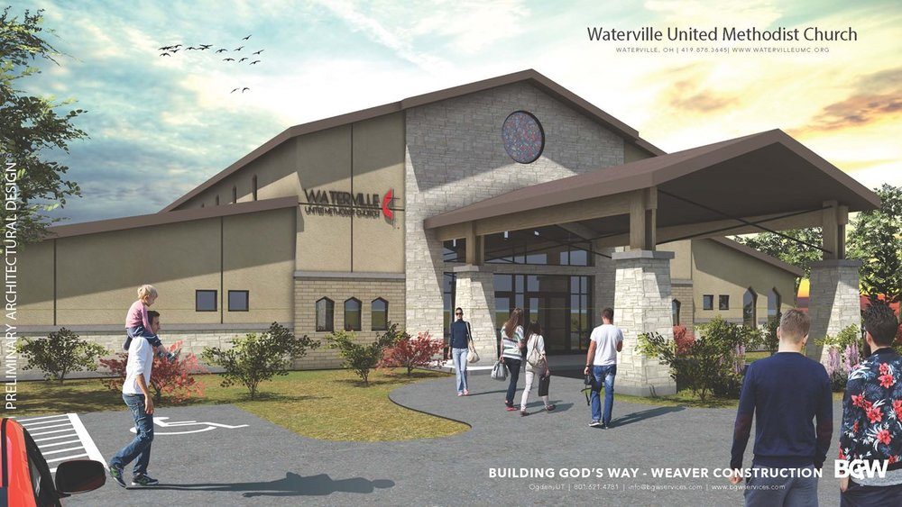 Proposed new Waterville - Monclova Road Facility next to the Fire Station
