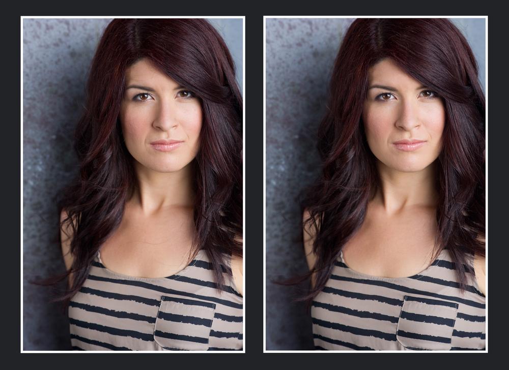 photo manipulation, retouching, headshots