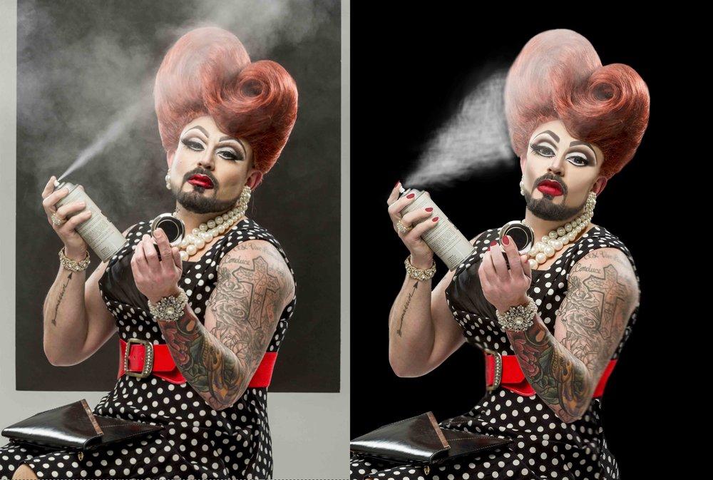 photo manipulation, retouching, editorial, headshots, restoration