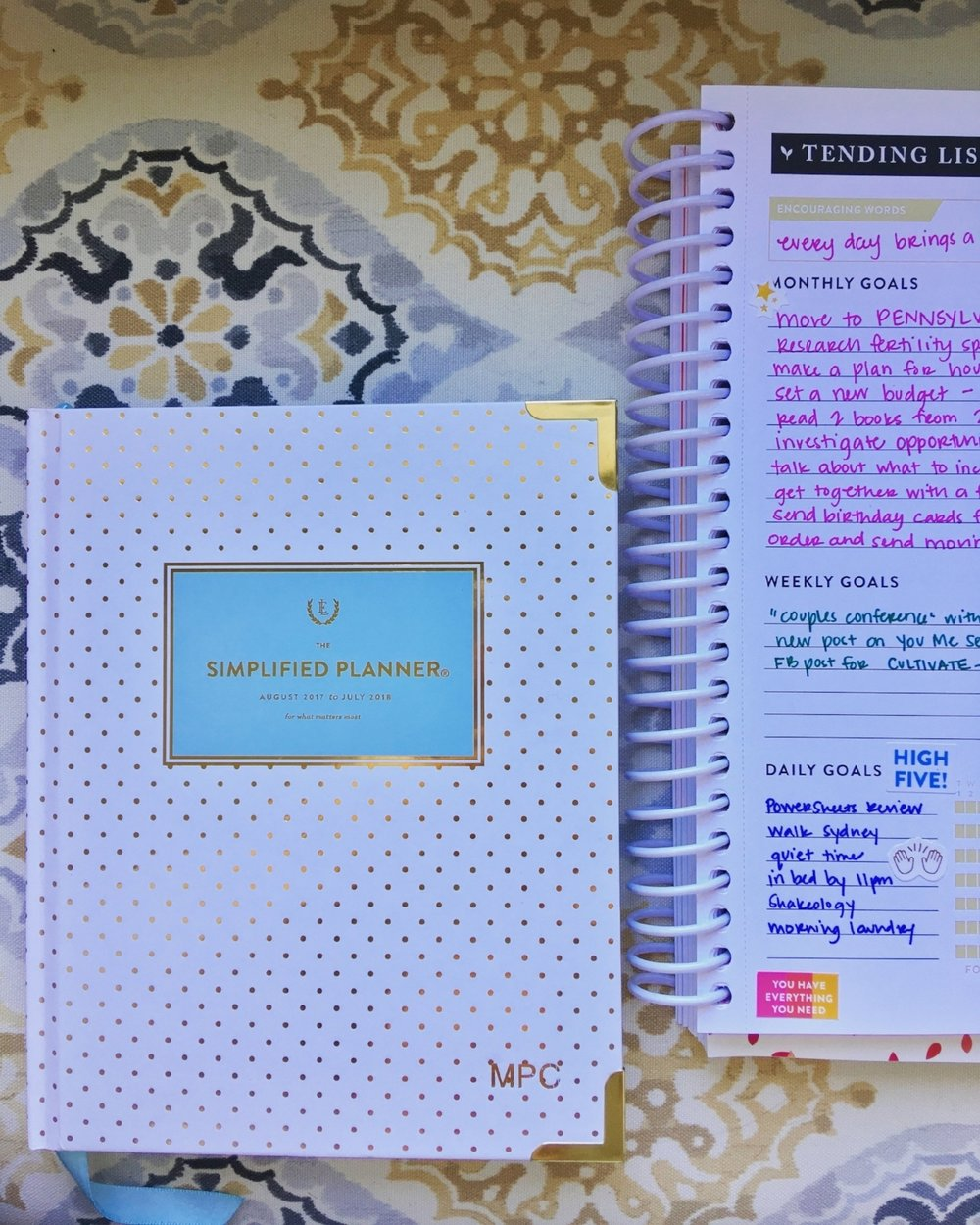 A new month means a new planner!