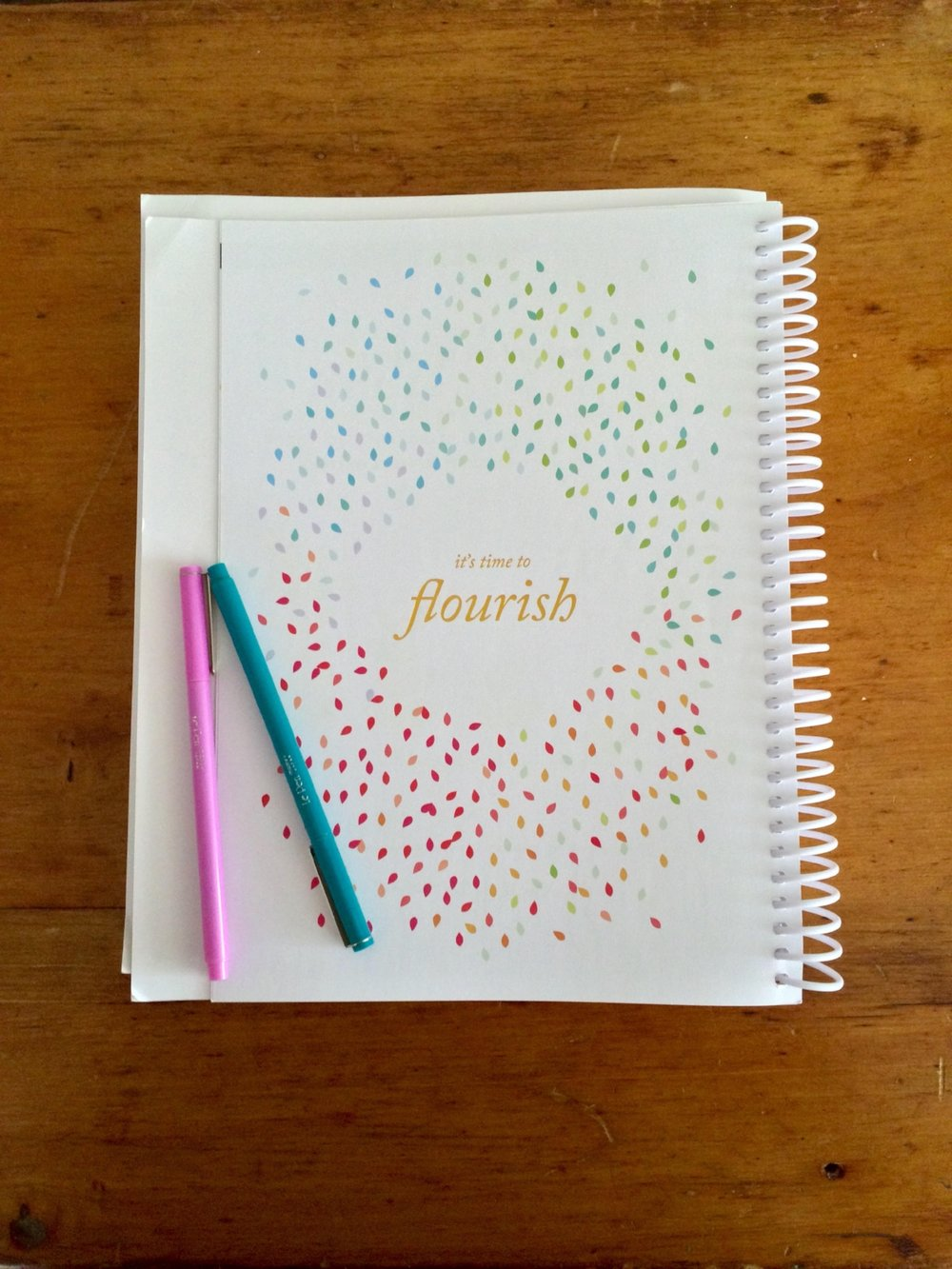 The spiral bound PowerSheets are as beautiful as they are functional. Sprinkled throughout are colorful pages offering inspiration for the goal setting process.