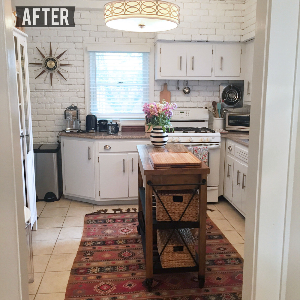 Diy Kitchen Makeover my diy kitchen makeover! — la bella via