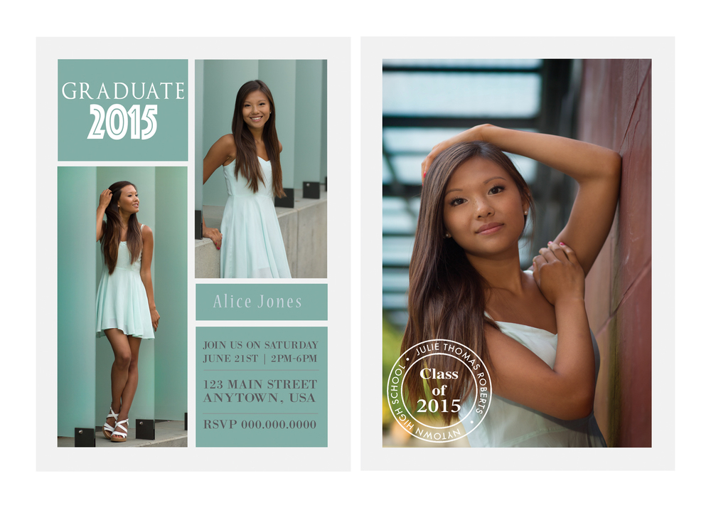 2015 Graduation announcements — Abel Sanchez - awesome photographer