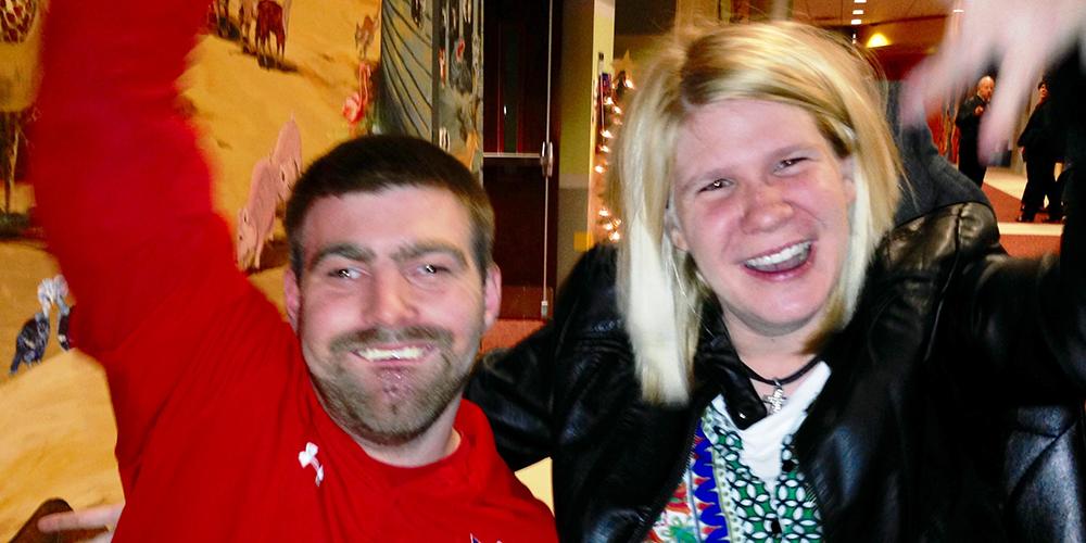 Kylie and Matt - Champions!