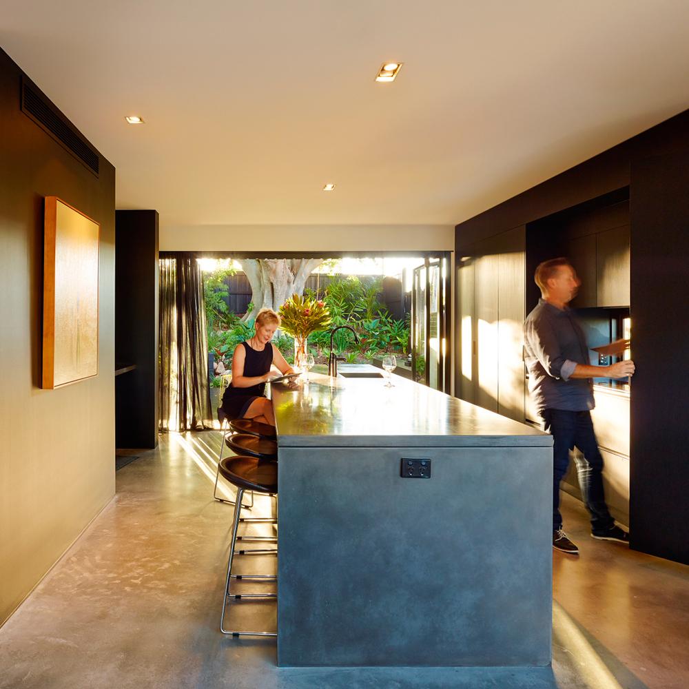 Pop Concrete Ellivo Concrete Kitchen Island Benchtop