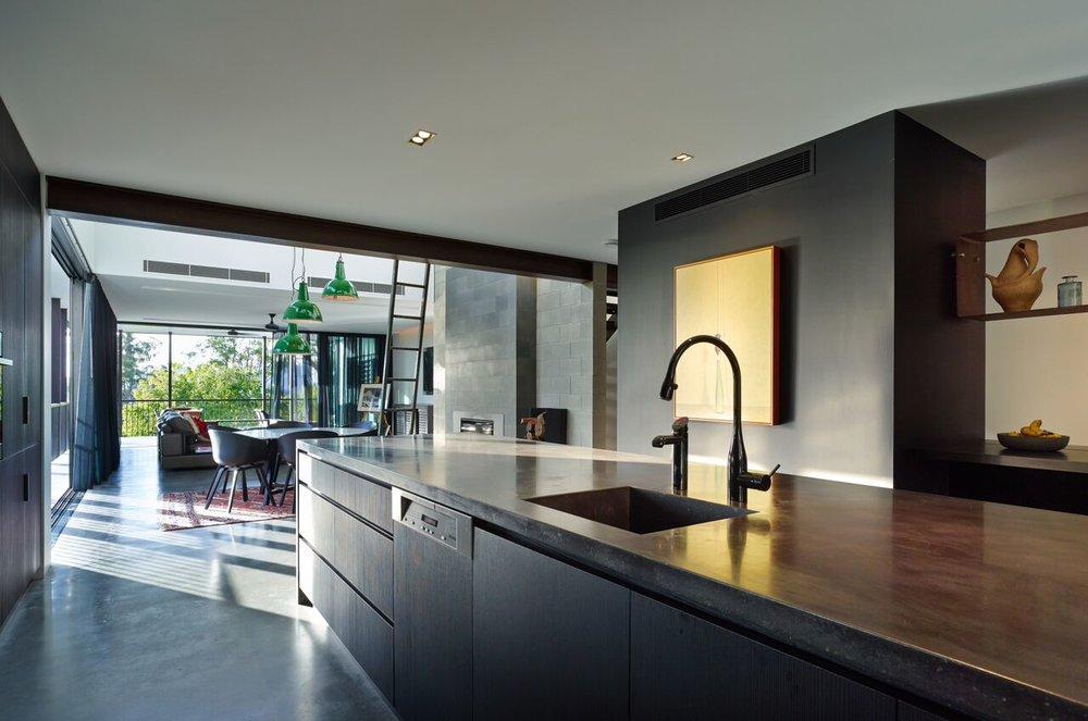 Pop Concrete Enoggera Concrete Kitchen Island