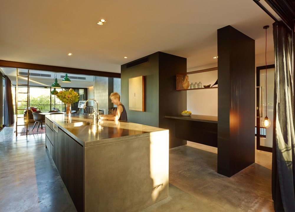 Pop Concrete Enoggera Concrete Kitchen Island Benchtop