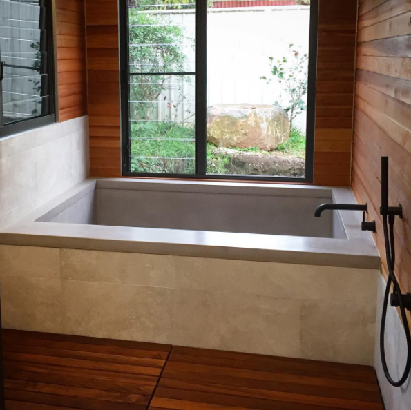 Concrete Baths and Bath Tubs