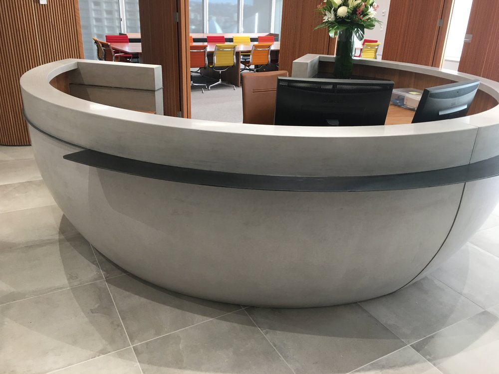 Concrete Reception Desks
