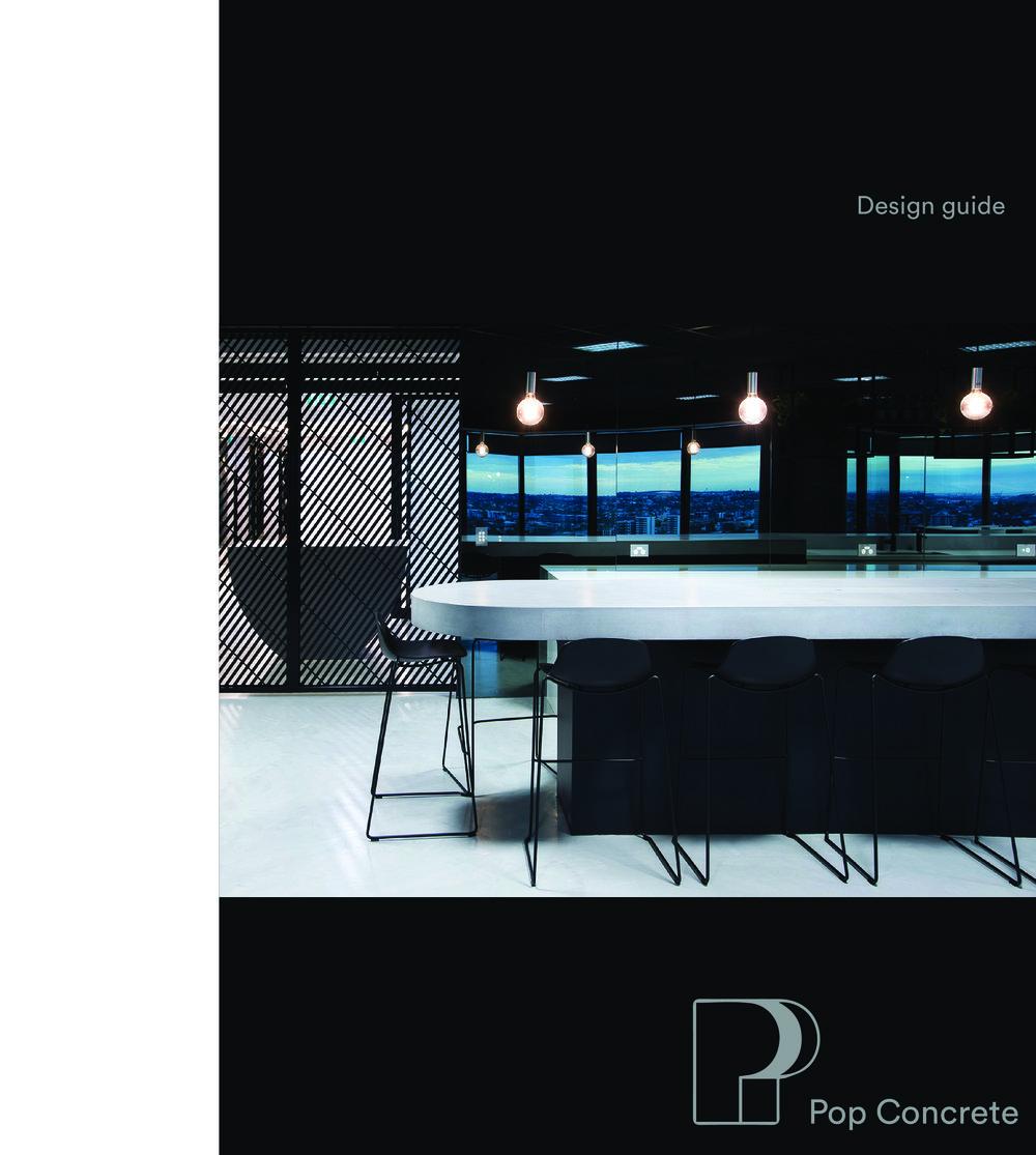 pop concrete design guide 2018 brochure