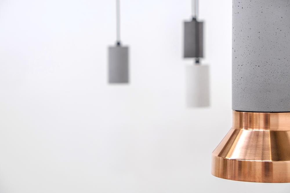Concrete Pendant Lights (Pop Plus)