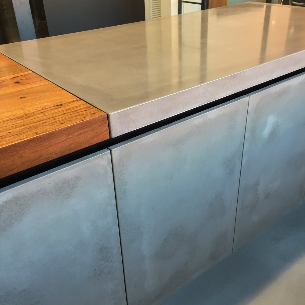 Concrete Cabinet Doors