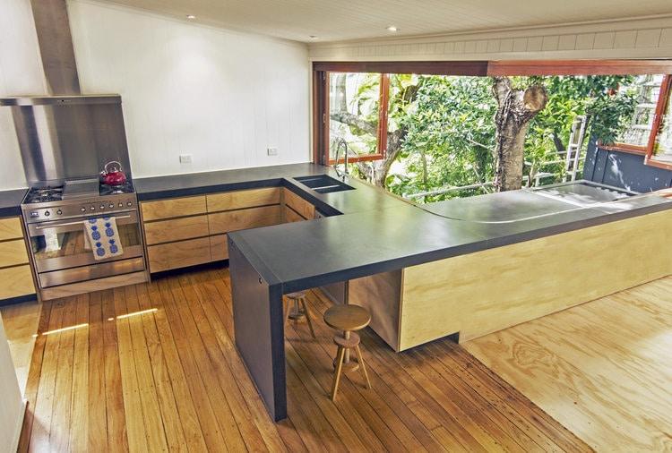 Jumna Street Residence    - Concrete Kitchen Benchtops, Concrete Vanities