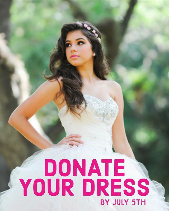 Operation #quinceañera is nearly complete. Dresses must be received by July 5th in order to make the flight to the Dominican Republic. TDP partner, @cotni will be throwing an unforgettable birthday bash for ten lucky young ladies. A perfect second story for your dress!  Mail clean, excellent condition dresses to:  Susan Rivera 130 Clyde Avenue Longwood, FL 32750  #redress #secondstory #dominicanrepublic #cotni #quinceanera #thedressproject #dressproject