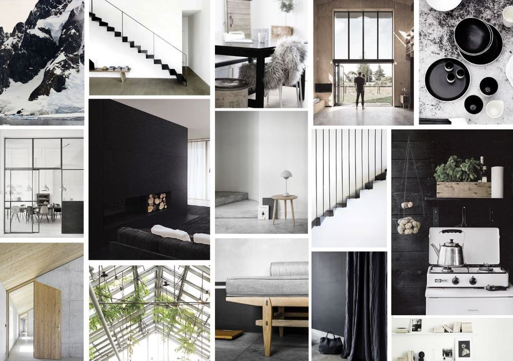 Mood board by whitewash  |  Imagery source - Pinterest