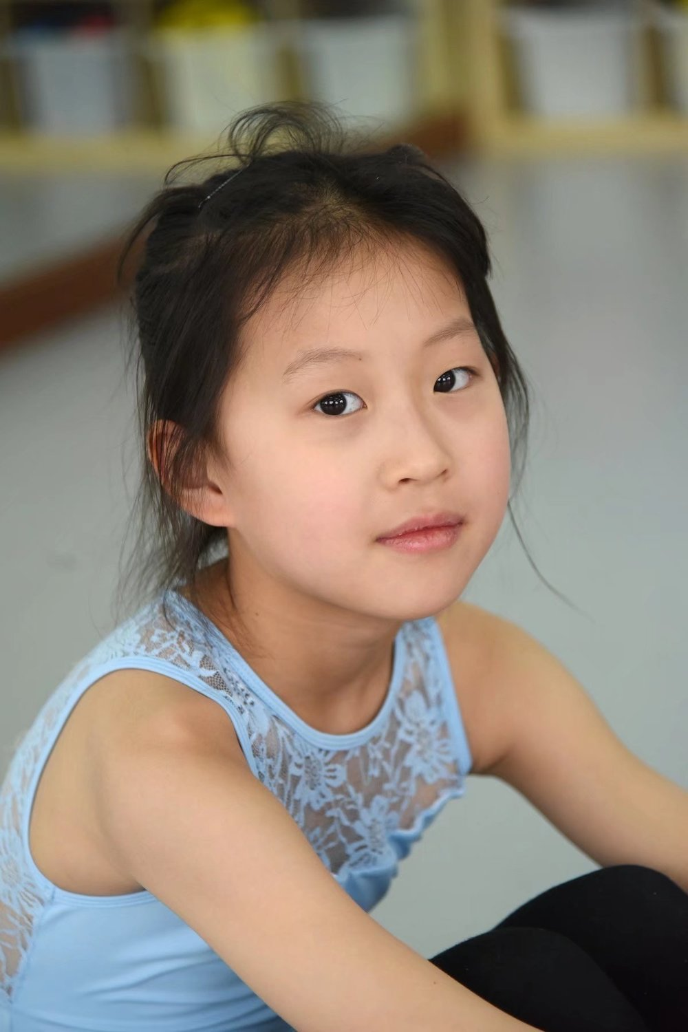 Ivy   Ivy started dancing when she was 3 years old. After joining DWS for 1 year, she has become more confident. Ivy feels that when she dances, she is her true self. The next dance style she hopes to learn is hip hop. Outside of dance, Ivy also loves music, especially singing.