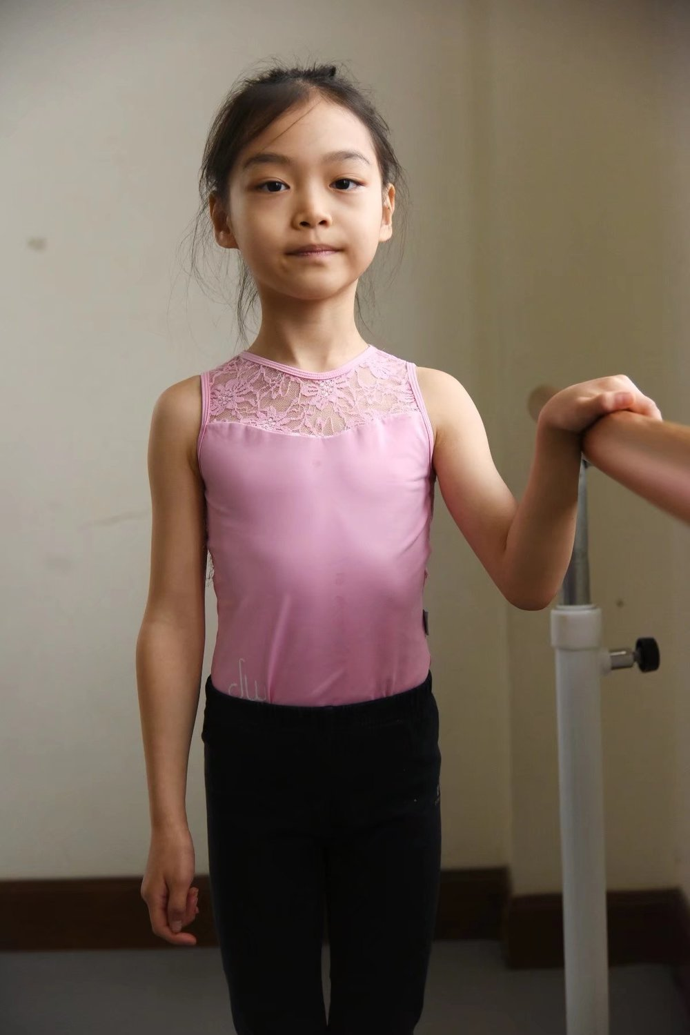 Emily   Emily started dancing when she was 4 years old. After joining DWS for 2 years, dancing has become more and more important and essential to her. She loves animals and flowers.