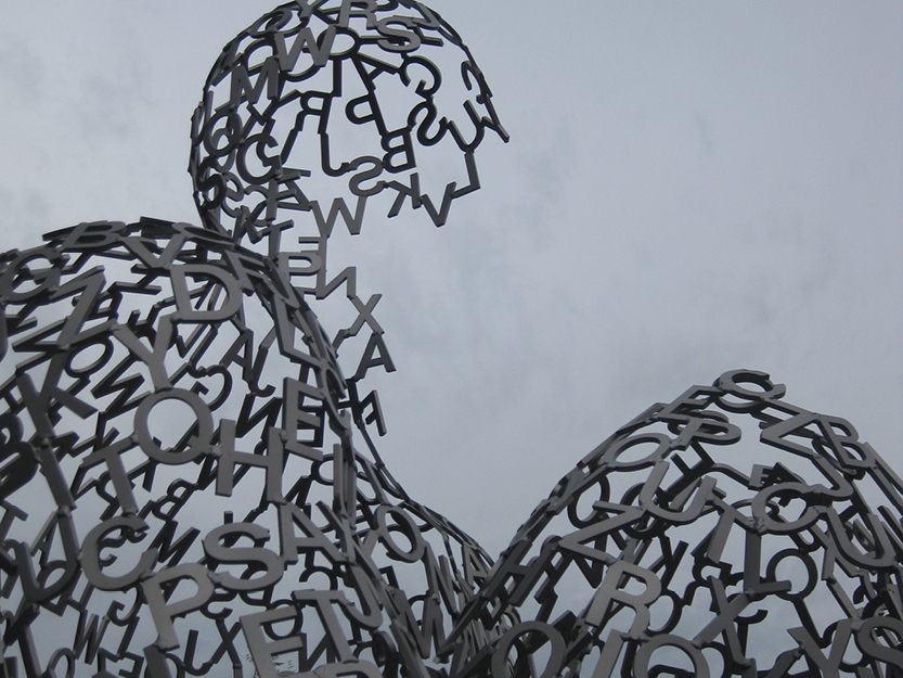 Typographic Sculpture – San Francisco