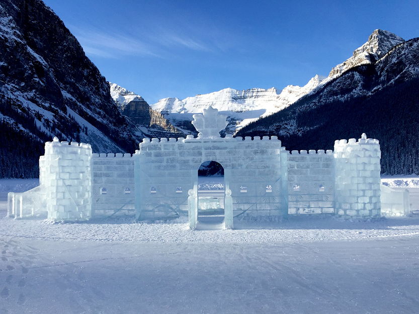 Fairmont Ice Castle – Lake Louise