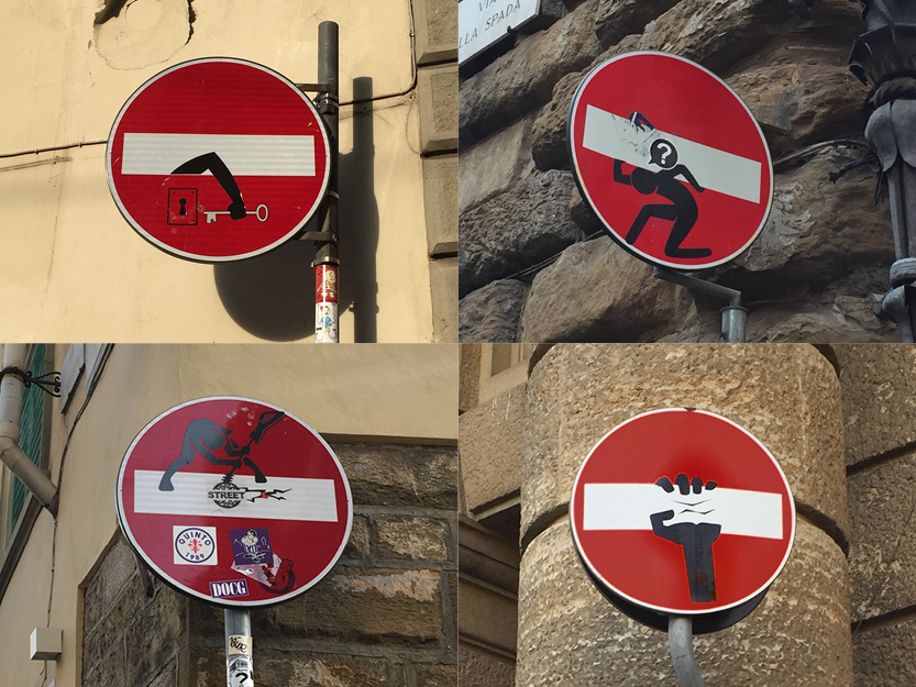 No Entry Signs – Florence