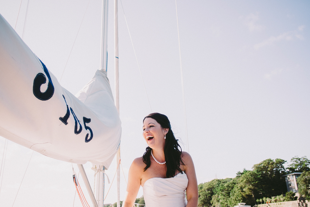 Royal Nova Scotia Yacht Squadron Wedding