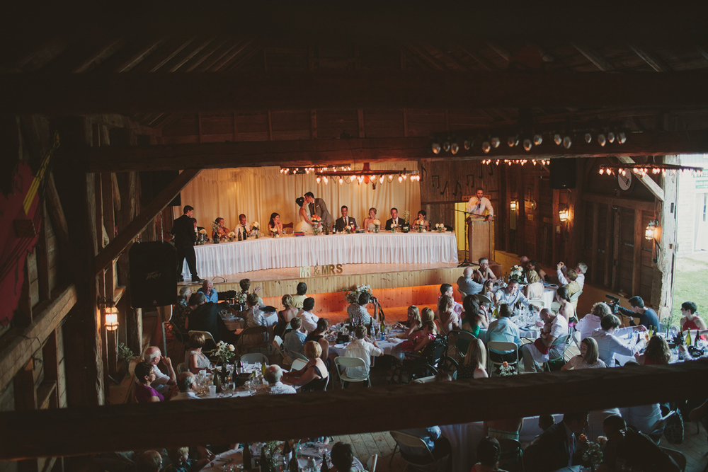 music barn wedding
