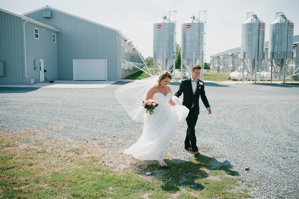 An Annapolis Valley Cottage Wedding