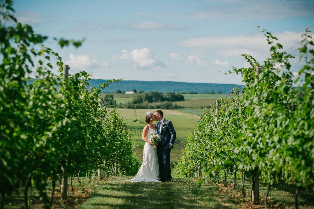 A Wolfville backyard wedding